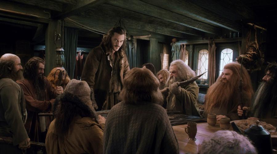 """""""Hobbit: Pustkowie Smauga"""" Luke Evans"""