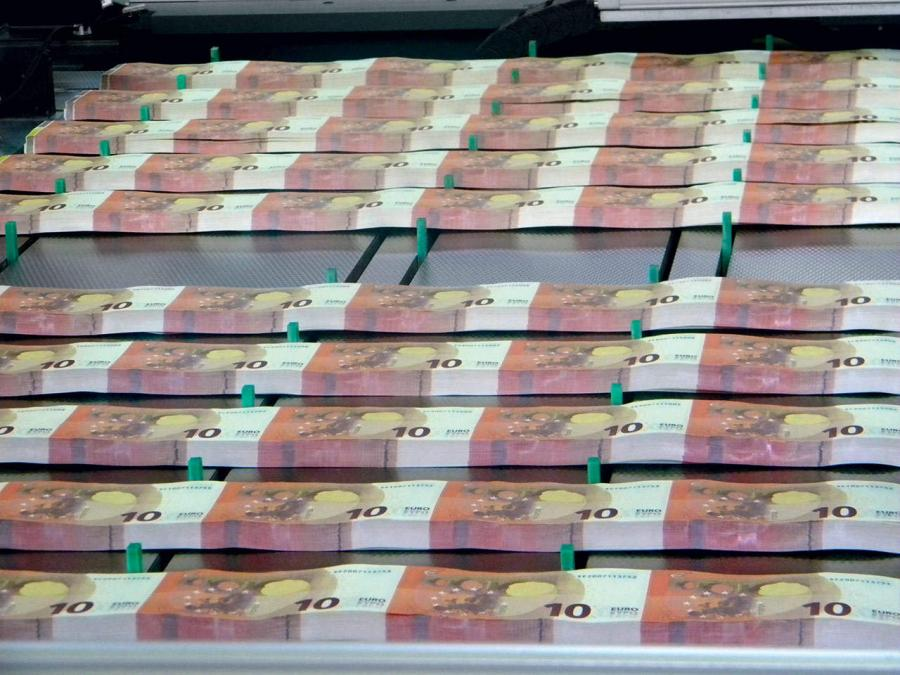 Nowe banknoty 10 euro
