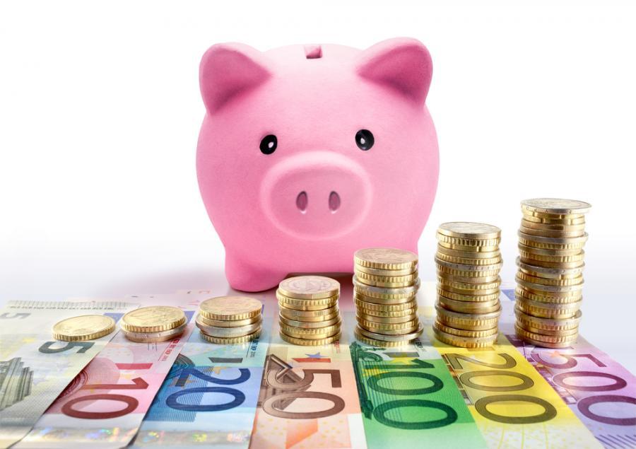 konto bankowe, euro, oszczędzanie