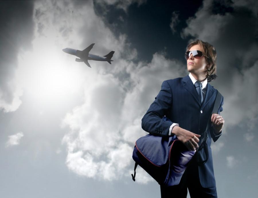 podróż, biznes, młodzi