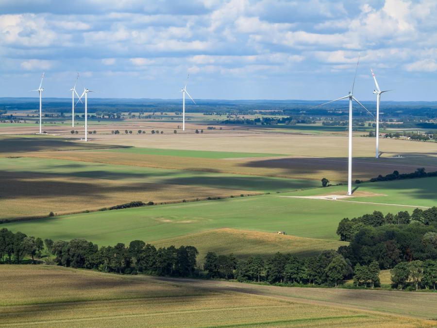 Farmy wiatrowe GDF SUEZ w Polsce (Pągów, woj. opolskie, 51MW), źródło GDF SUEZ Energia Polska S.A