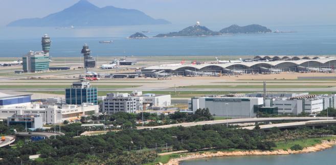 lotnisko, Hong Kong