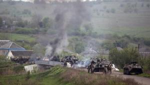 Szturm ukraińskiej armii na Słowiańsk. Fot. EPA/ROMAN PILIPEY/PAP/EPA