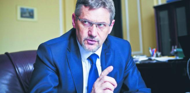 Janusz Cichoń, wiceminister finansów
