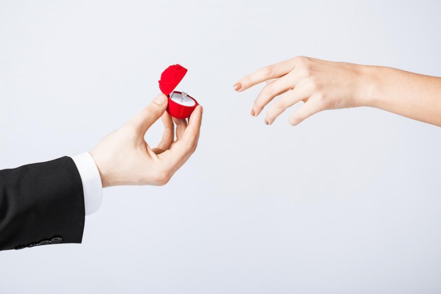 małżeństwo, zaręczyny, oświadczyny