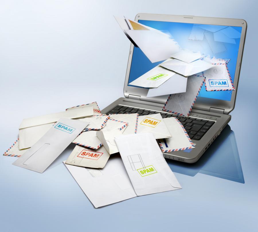 komputer, spam, poczta