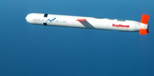 Tomahawk wyprodukowany przez koncern Raytheon
