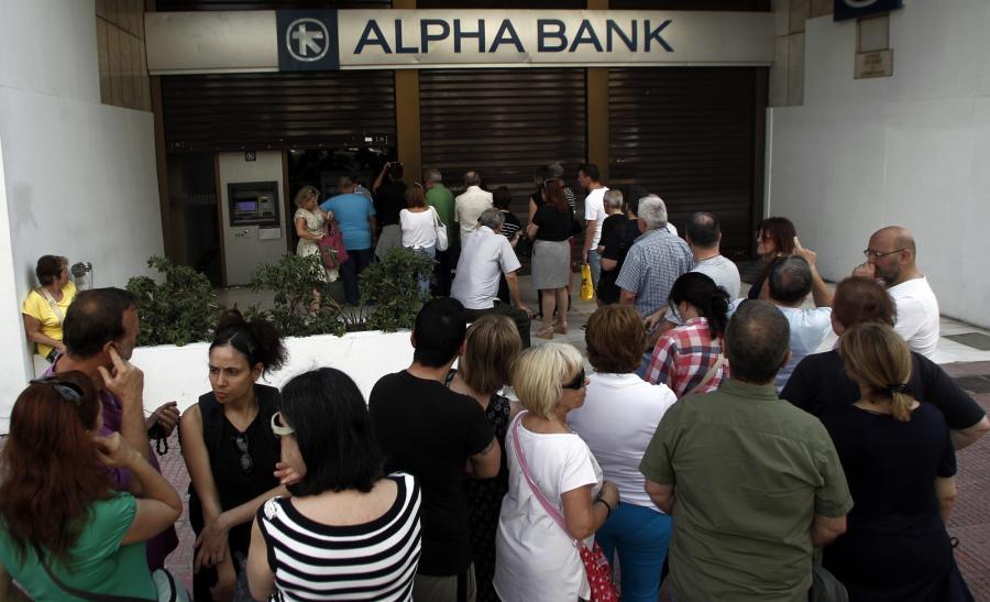 Grecja kryzys