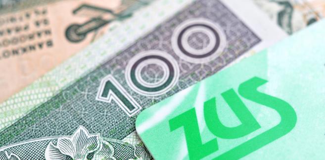 ZUS, emerytury, pieniądze, złotówki