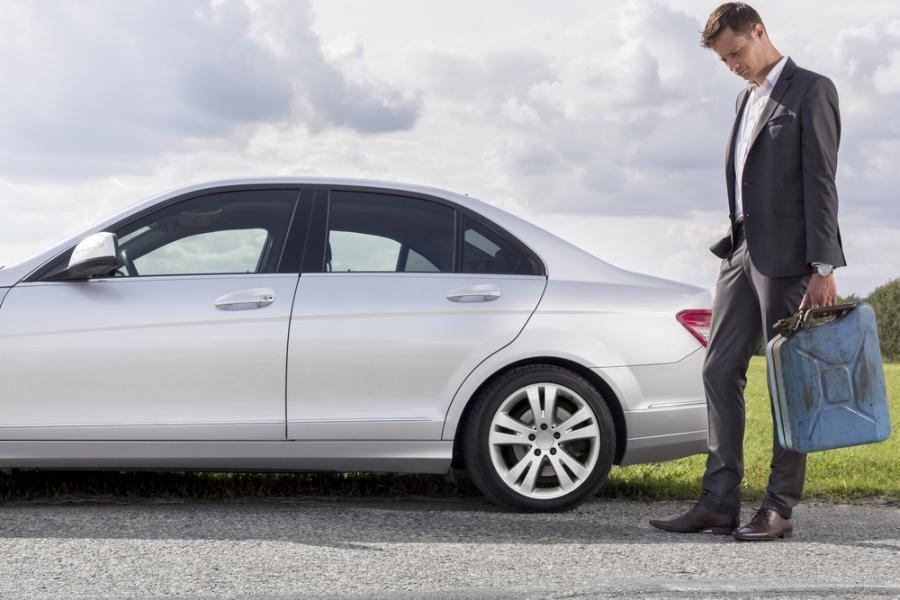 samochód, mężczyzna, paliwo, auto