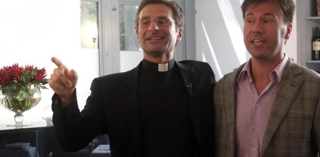 Konferencja prasowa księdza Krzysztofa Charamsy
