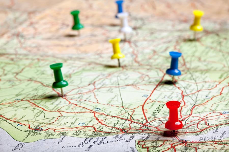 Mapa. fot. shutterstock.com