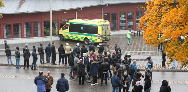 Atak na szkołę w Szwecji