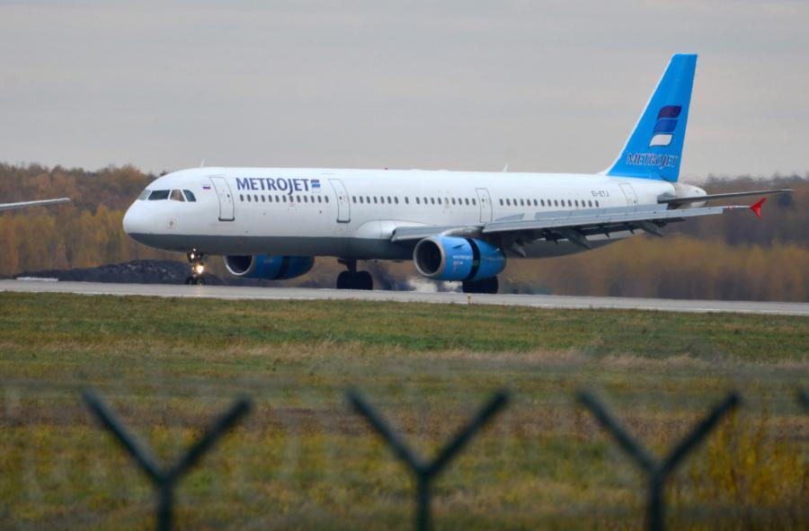 Samolot rosyjskich linii Metrojet,  EPA/TATIANA BELYAKOVA Dostawca: PAP/EPA.