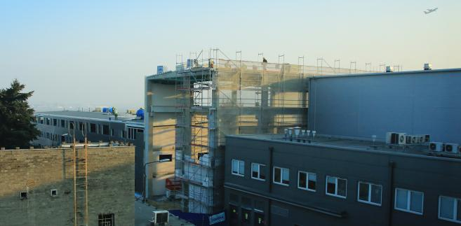 Centrum Turbin Gazowych w budowie
