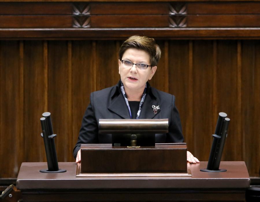 Premier Beata Szydło, PAP/Paweł Supernak