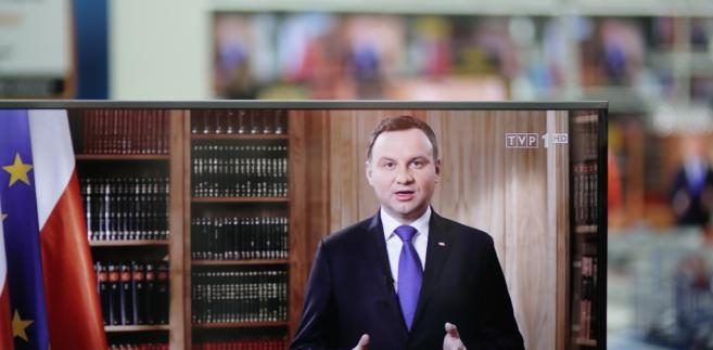 Orędzie Andrzeja Dudy