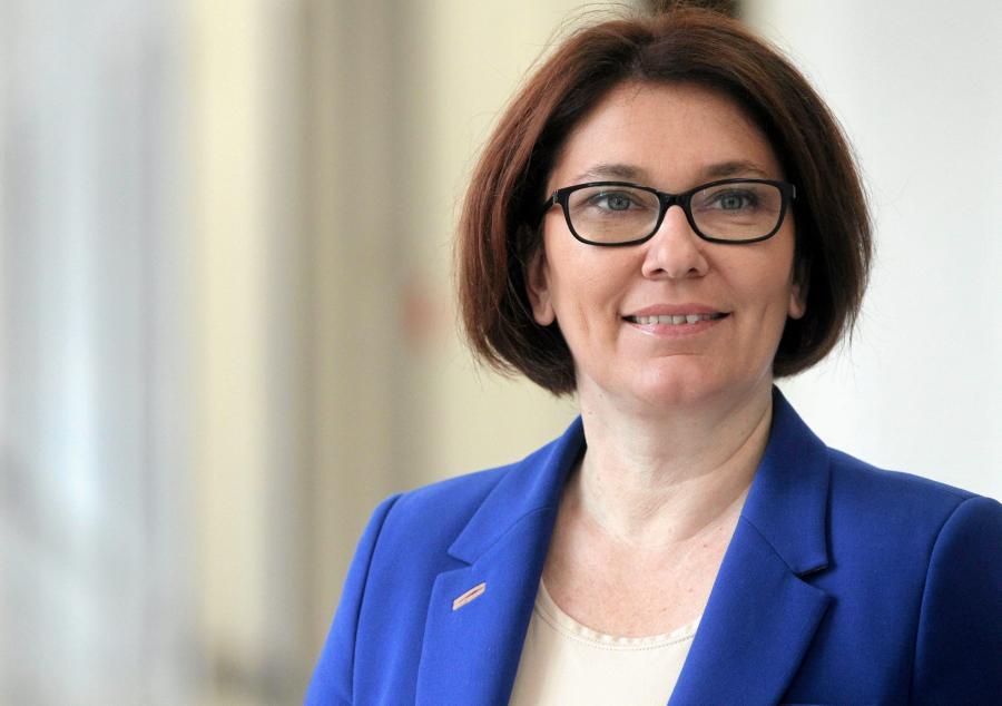 Beata Mazurek. Fot . Przemek Wierzchowski / Agencja Gazeta