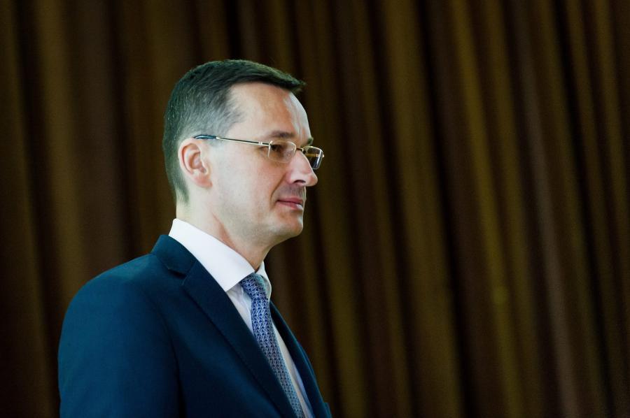 Mateusz Morawiecki, fot. Łukasz Krajewski  Agencja Gazeta