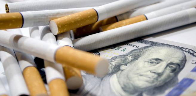 Jeśli chodzi o nielegalny tytoń to nastąpił spadek zatrzymań.