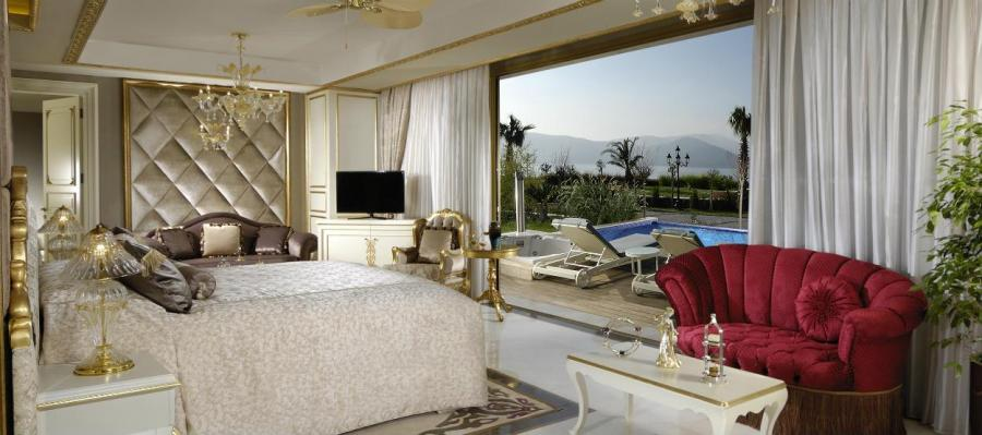 The Palace Suite, Jumeirah Bodrum Palace (Torba, Turcja) – 41,500 USD za noc