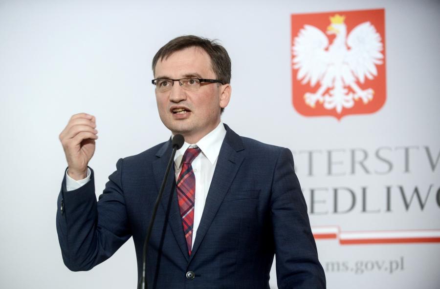 Minister sprawiedliwości i prokurator generalny Zbigniew Ziobro,  PAP/Jakub Kamiński