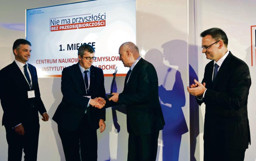 Vigo System SA – wyróżnienie odebrał prezes Adam Piotrowski