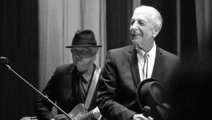 Kanadyjski poeta i piosenkarz Leonard Cohen.