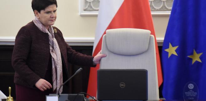 Premier Beata Szydło, PAP/Radek Pietruszka