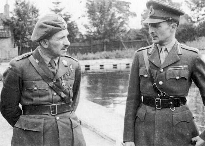Gen. Sosabowski i gen. Browning