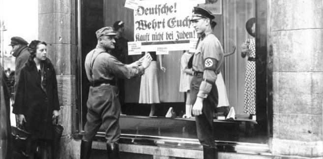 Bojkot żydowskich sklepów, 1 kwietnia 1933