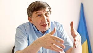 Dr Jurij Kariagin przewodniczący Międzyzakładowego Związku Zawodowego Pracowników Ukraińskich w Polsce