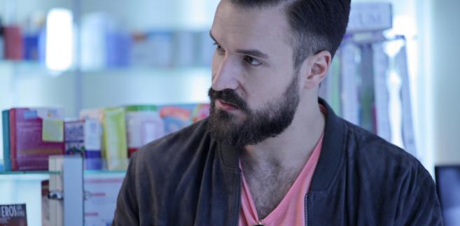 """Piotr Stramowski jako Michał w filmie """"Botoks"""""""