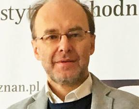 prof. Stanisław Żerko historyk pracujący w Instytucie Zachodnim, ośrodku analitycznym zajmującym się Niemcami