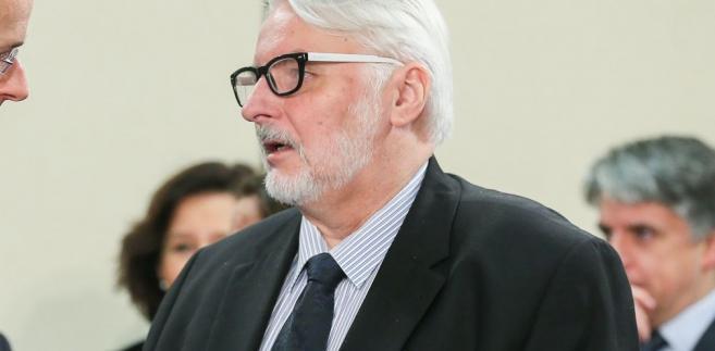 Do zmiany w MSZ dojdzie prawdopodobnie w styczniu, w drugiej fali rekonstrukcji.