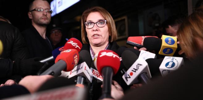 """Mazurek podkreśliła, że Komitet Polityczny podjął decyzję, że Szydło powinna pełnić """"ważną, eksponowaną funkcję w polskim rządzie"""""""