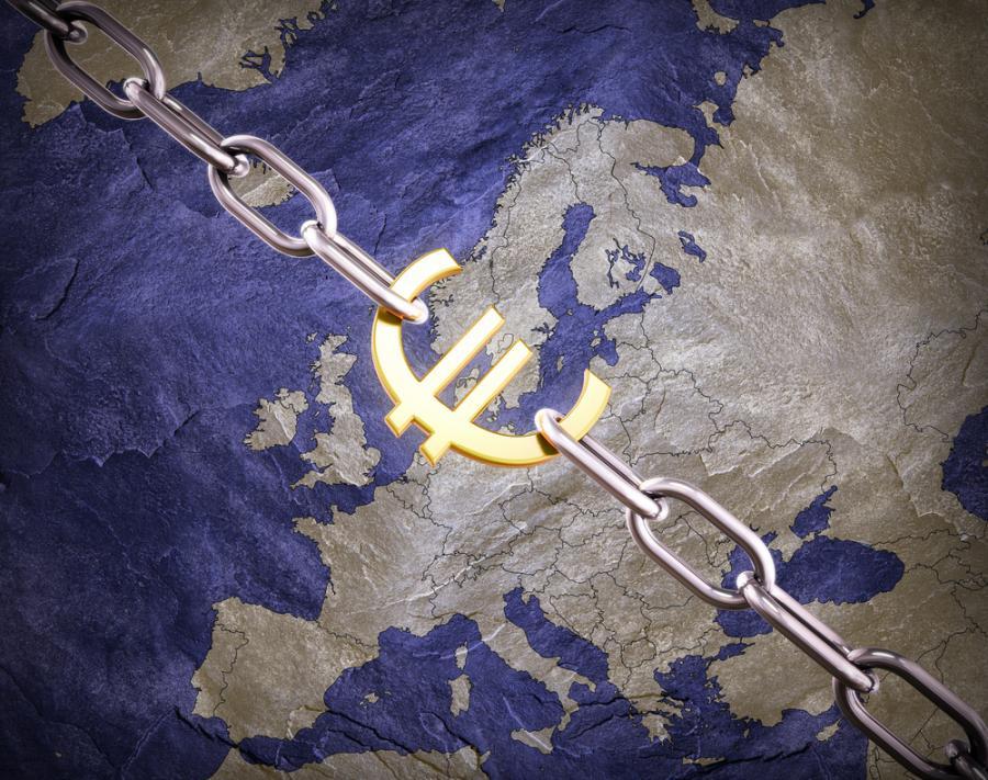 Euro, Mapa Europy