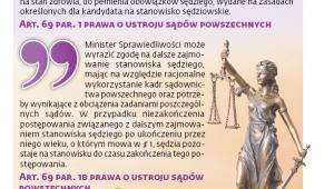 Obowiązujące od 1 października nowe zasady przechodzenia sędziów w stan spoczynku