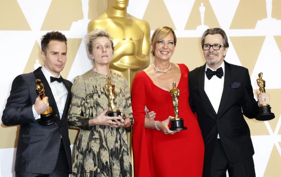 Aktorzy - zwycięzcy Oskarów 2018