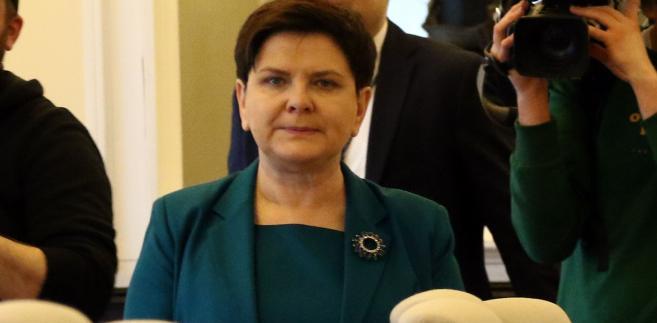 Beata Szydło unikała dotąd sprawy protestów