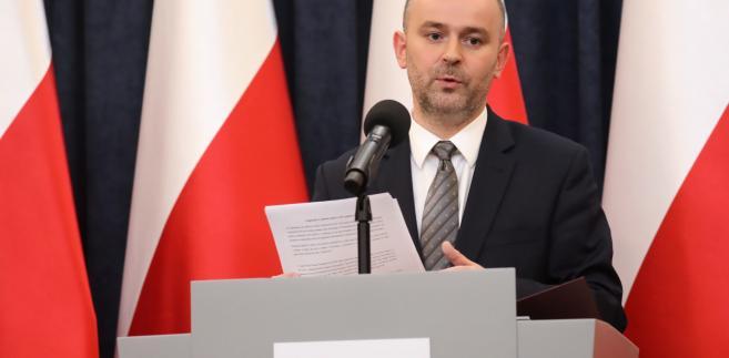 Prezydencki Minister Paweł Mucha