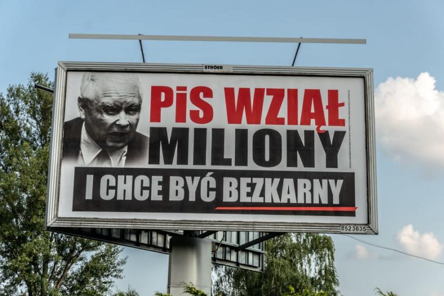 PiS wziął miliony kampania