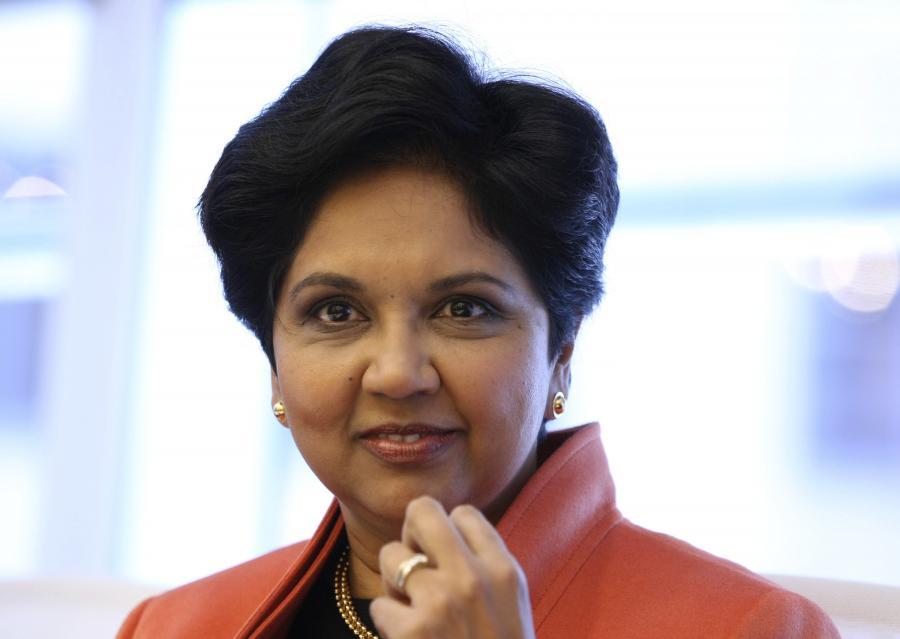 Indra Nooyi, przewodnicząca rady nadzorczej i dyrektor wykonawczy w Pepsi Co, pięćdziesiatej najbardziej innowacyjnej firmie według magazynu Forbes.