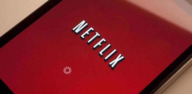Logo Netflix. Fot. Scott Eells/Bloomberg