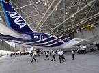 Boeing 787 w barwach japońskiej linii lotniczej ANA