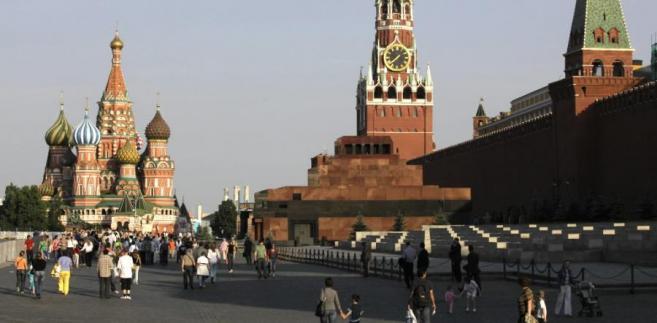Plac Czerwony w Moskwie. Fot. Bloomberg
