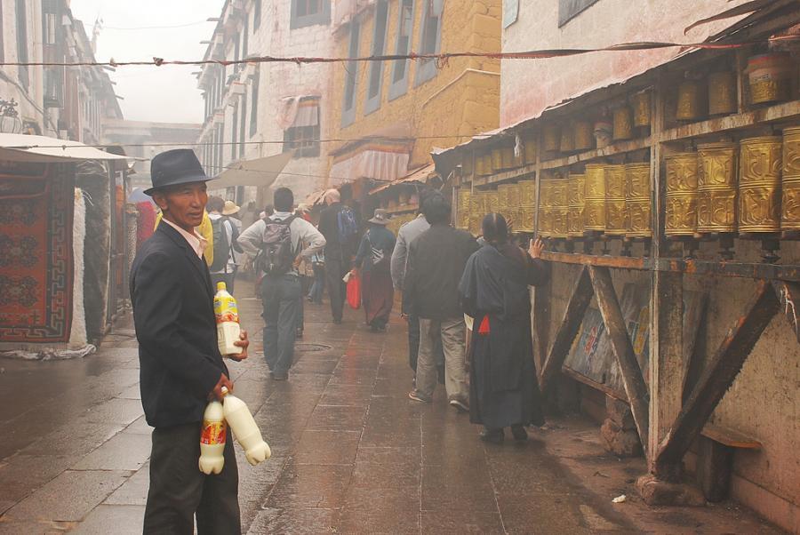 Lhasa w Tybecie