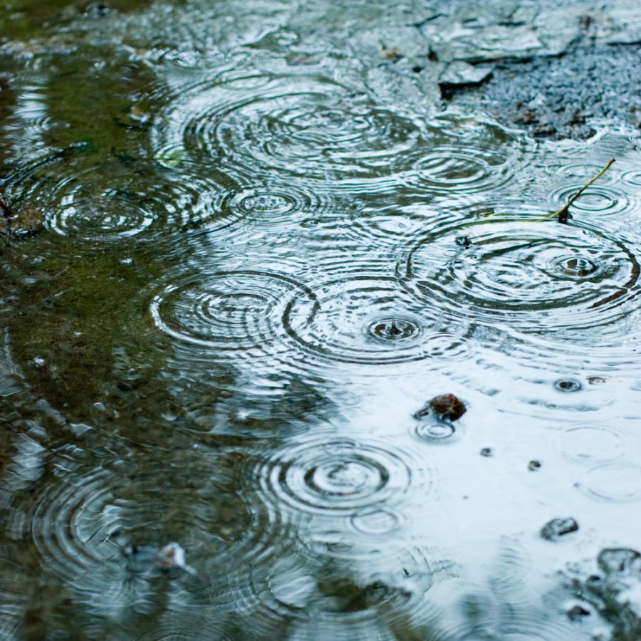 Opady deszczu