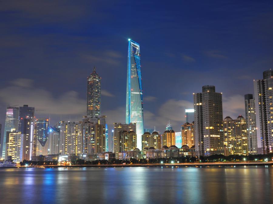 Shanghai World Financial Center w Chinach