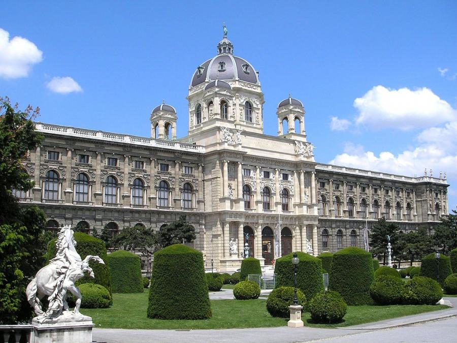 Wiedeń. Muzeum Historii Sztuki. Jest to jedna z największych galerii na świecie.